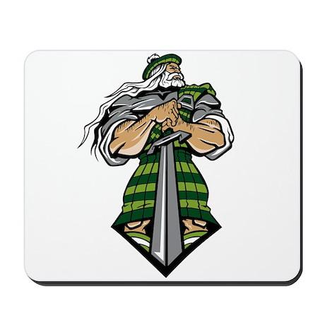 Zeus Warrior Mousepad