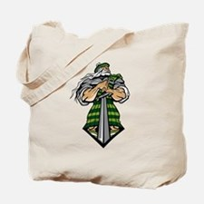 Zeus Warrior Tote Bag