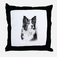Pet Illustrations Throw Pillow