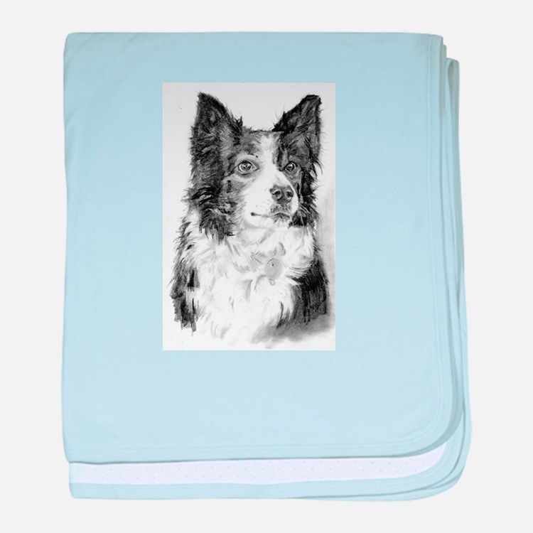 Pet Illustrations baby blanket