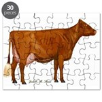 Shorthorn Cow Puzzle