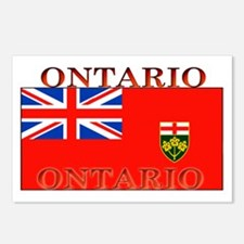 Ontario Ontarian Flag Postcards (Package of 8)