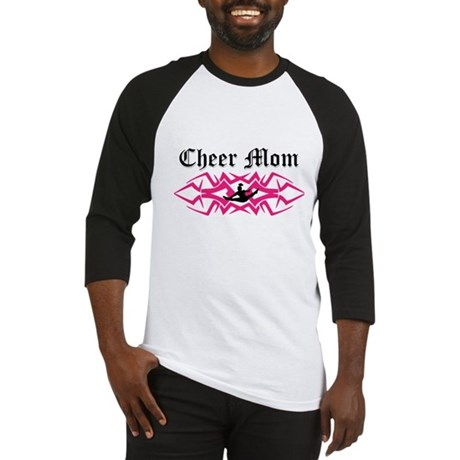 Cheer Mom Baseball Jersey