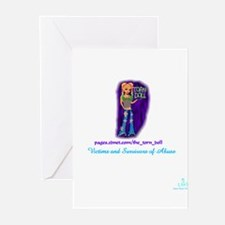 Torn Doll Greeting Cards (Pk of 10)