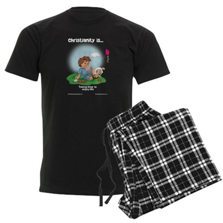 Enjoy Life Men's Dark Pajamas