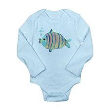 Big Fish Long Sleeve Infant Bodysuit