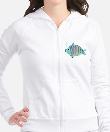Big Fish Fitted Hoodie