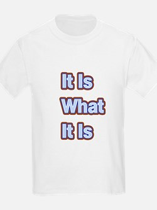 It Is What It Is 1 T-Shirt