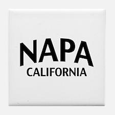 Napa California Tile Coaster