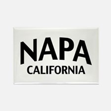 Napa California Rectangle Magnet
