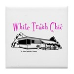 White Trash Chic Tile Coaster