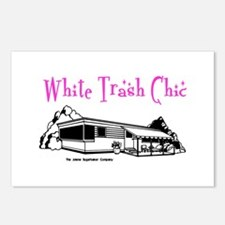 White Trash Chic Postcards (Package of 8)