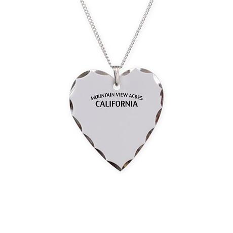 Mountain View Acres California Necklace Heart Char