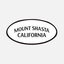Mount Shasta California Patches