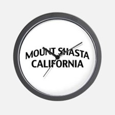 Mount Shasta California Wall Clock