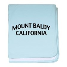 Mount Baldy California baby blanket