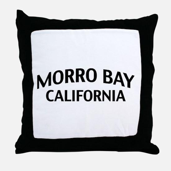Morro Bay California Throw Pillow