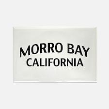 Morro Bay California Rectangle Magnet