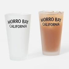 Morro Bay California Drinking Glass