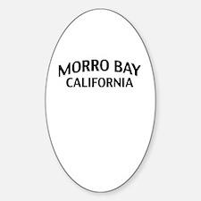 Morro Bay California Sticker (Oval)