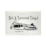 Not A Terrorist Target Rectangle Magnet (10 pack)