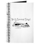 Not A Terrorist Target Journal