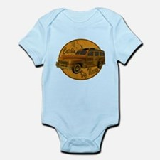 Catch a Wave Woodie Surf Wago Infant Bodysuit