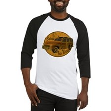 Catch a Wave Woodie Surf Wago Baseball Jersey