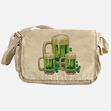 Green Beer Messenger Bag