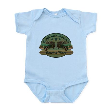 California Dreamin Woodie Sur Infant Bodysuit