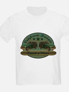 California Dreamin Woodie Sur T-Shirt