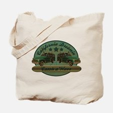 California Dreamin Woodie Sur Tote Bag