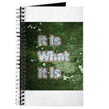 It is What It Is text design Journal