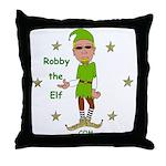 Robby The Elf Throw Pillow