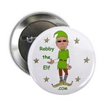 """Robby The Elf 2.25"""" Button"""