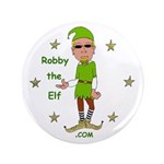 """Robby The Elf 3.5"""" Button"""
