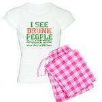 I See DRUNK People Women's Light Pajamas