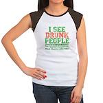 I See DRUNK People Women's Cap Sleeve T-Shirt