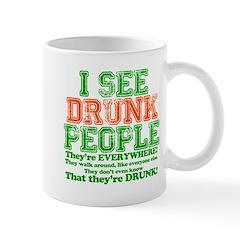 I See DRUNK People Mug