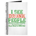 I See DRUNK People Journal