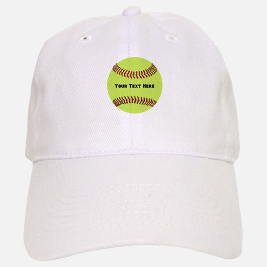 Customize Softball Name Baseball Baseball Cap
