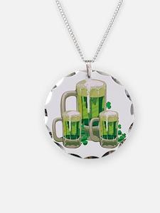 Green Beer Necklace