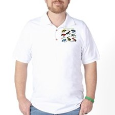 Poison Dart Frogs of the Amazon T-Shirt
