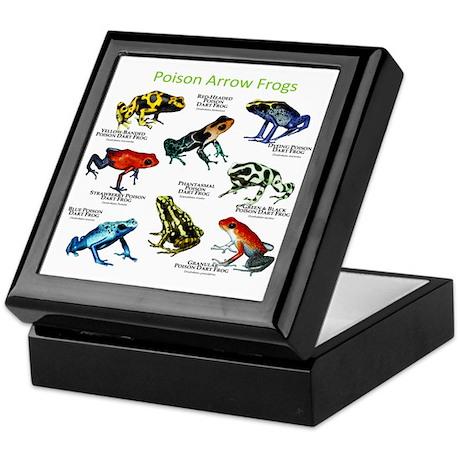 Poison Dart Frogs of the Amazon Keepsake Box