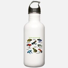 Poison Dart Frogs of the Amazon Water Bottle