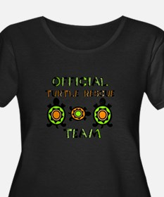 Turtle Rescue Plus Size T-Shirt