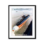 USS KAMEHAMEHA Framed Panel Print