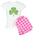 Shamrock Skulls St Pattys Day Women's Light Pajama