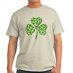 Shamrock Skulls St Pattys Day Light T-Shirt