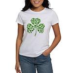 Shamrock Skulls St Pattys Day Women's T-Shirt